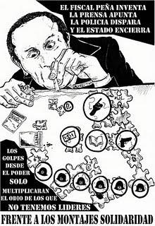 """[Video] Sobre el fin del """"caso bombas"""" habla el abogado de uno de los imputados Julio Cortés (La policía como máxima degeneración de la violencia)"""