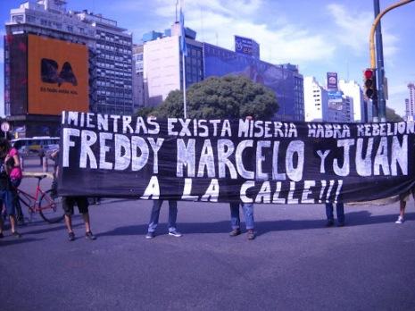 Freddy, Marcelo, Juan