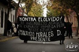 [Video] Reivindicando al Punki Mauri en la calle (Juan Gomez Milla)
