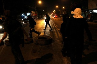 [FOTOS] Barricadas a 14 años del asesinato del compañero Daniel Menco y la caida en combate de Mauricio Morales
