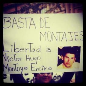 Carta de Victor Montoya desde el centro de exterminio de Puente Alto