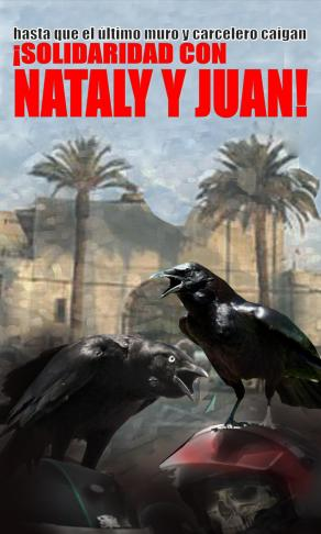 Afiche texto NATALY JUAN